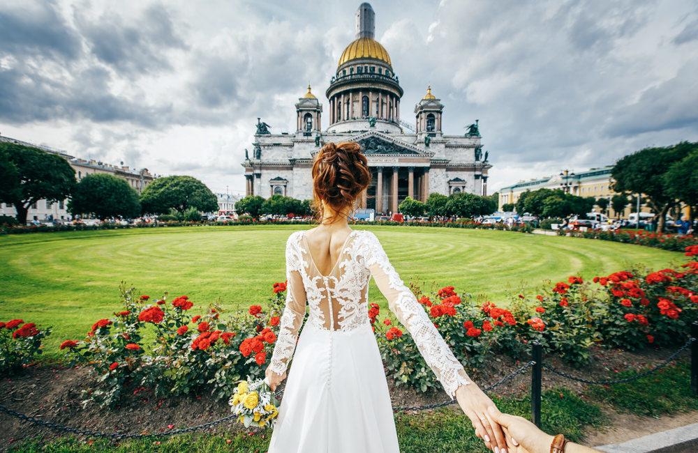 Заказать свадебного фотографа в СПб Санкт-Петербург свадьба