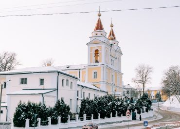 Зимний Мозырь в -20 / январь 2021