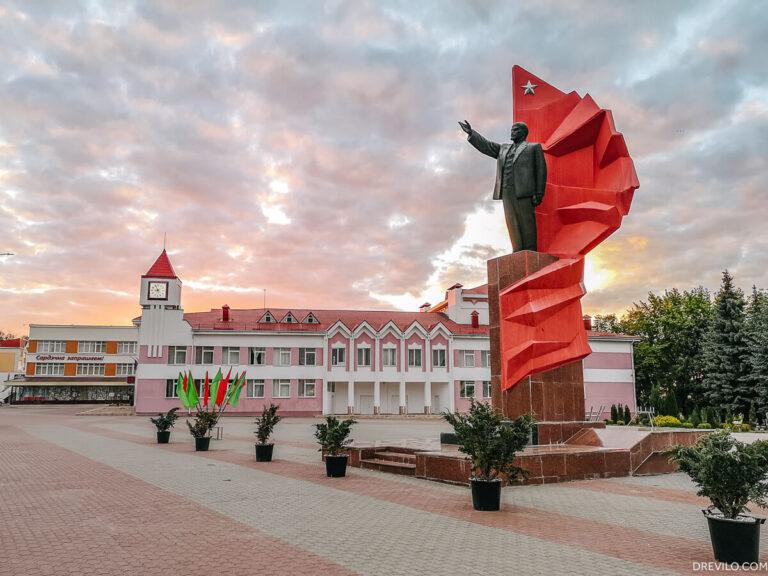 Памятник Ленину в Мозыре